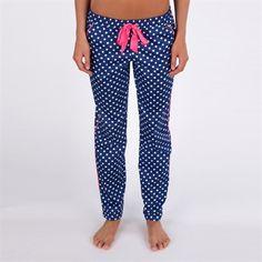 Juicy Couture Josie Polka Dot Sleep Pant #VonMaur #JuicyCouture #Navy #Pink #Pajama