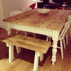 HOVIS Reclaimed Wood Dining Table