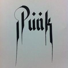 punk font | Tumblr