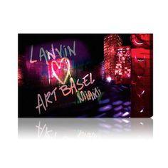 Oliver Gal 'Lanvin Art Basel' Canvas Art Print | Overstock.com