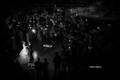 Our first dance. Looked like a starry sky!