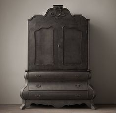Dutch Merchants Chest Armoire.  this would look bad ass in my room.  Why doe Restoration Hardware have to be soooooo expensive!