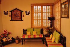 Best India Home Design Ideas 32 - Rosa Eliza Mendonça - Living Room Interior, Home Decor, Indian Homes, House Interior, Indian Home Interior, Yellow Living Room, Home Interior Design, Interior Design, Home Decor Furniture