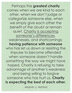 Quote Printable: charity