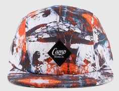 Abstract 5 Panel Cap by CAMP