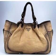 Prada shoulder bag 79147 beige obsession