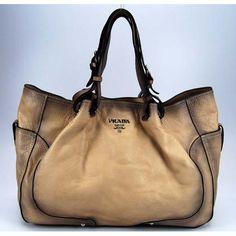 Prada shoulder bag 79147 beige obsession