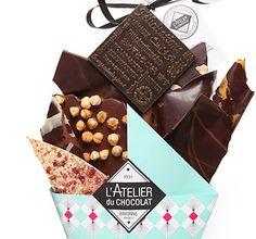 Offrez un Bouquet de Chocolats : plus gourmand qu'un bouquet de fleurs et plus audacieux qu'une boîte de chocolats. Livraison à domicile dans un joli coffret.