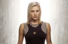 The re-imagined Battlestar Galactica series never disappoints, and 'Starbuck' Kara Thrace (played amazingly by Katee Sackhoff) is one of the most interestingly nuanced female characters ever on tv. Battlestar Galactica, Kampfstern Galactica, Marvel Comics, Loki Marvel, Bishoujo Statue, Katee Sackhoff, Star Trek, Badass Women, Female Characters