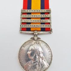 Queen's South Africa Medal (Clasps - Relief of Kimberley, Paardeberg, Driefontein, Transvaal) - Pte. W. Hill, West Riding Regiment | Cultman Collectables