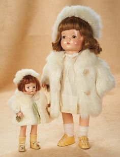 """All Original Patsyette & Patricia Joan -1935 - """"I Am Patricia Joan, Patsy Grown Up"""" - Theriault's Antique Doll Auctions"""