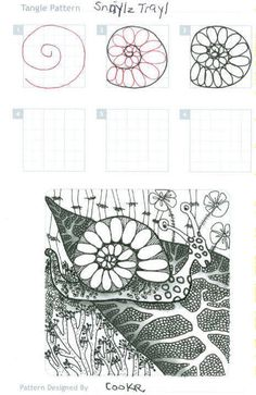 I love spirals and my Husband thought of this snail looking design.  I sketch it out and liked how it turned out.