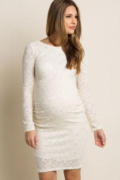 a90d594109a77 8 best Long sleeve maternity dress images | Long sleeve maternity ...