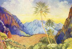 Vintage Hawaiian Prints | Tropical Vintage Hawaii - Hawaiian Legacy Archive - Printscapes