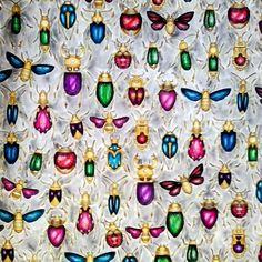 Mais um do Jardim Secreto.  Os insetos foram inspirados em um tutorial do youtube da @jessicacremer  Amei o resultado! #boracolorirtop #jardimsecretotop #colorindolivrostop  #inspiracaojardimsecreto #jardimsecreto #editorasextante