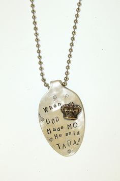 Southern Jewlz Online Store - Hand Stamped Spoon Necklaces, (http://www.southernjewlz.com/hand-stamped-spoon-necklaces/)