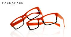 Face à Face Optical frames HAKKA1 col.2033 Orange frames by #faceaface