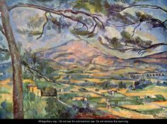 Paul Cezanne - Mont Sainte-Victoire