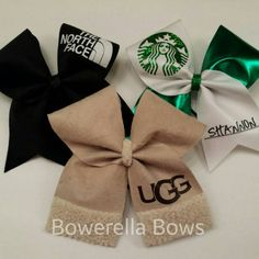 The Basic Girl Cheer Bow Survival Kit
