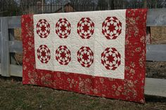 """Flag Day Stars"" - Red www.plantedseeddesigns.com"