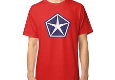 Vintage Chrysler Logo Shirt or Sticker Classic T-Shirt