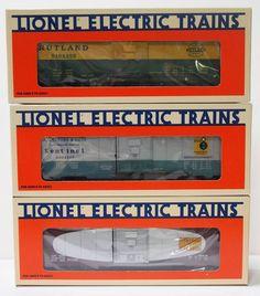 LIONEL TRAIN Boxcar Series V Rutland Ohio Georgia 1996 O Scale 6-19276 NIB New #Lionel