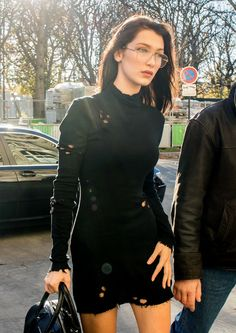 Bella Hadid out in Paris, France