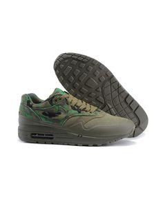 new styles 78121 cedec Women s Nike Air Max 1 MC SP Print Shoes Army Green Sale