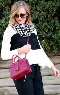 5749f274986eb Houndstooth - Sequins at Breakfast · Ysl ...