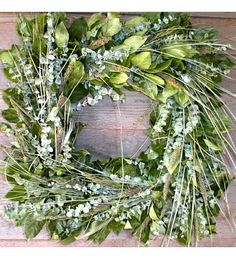Cool Green Square Wreath Spring Door Wreaths, Wreaths For Front Door, Square Wreath, Welcome Wreath, Holiday Crafts, Holiday Ideas, Grapevine Wreath, Floral Wreath, Cool Stuff
