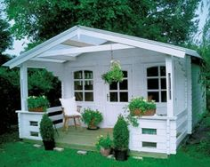 Guest quarters my home в 2019 г. backyard sheds, garden buil Backyard Sheds, Backyard Retreat, Garden Gazebo, Garden Sheds, Garden Buildings, Garden Structures, She Sheds, Cabins And Cottages, Tiny House Living