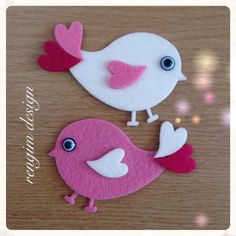 Valentine Crafts For Kids, Valentines Art, Mothers Day Crafts, Christmas Crafts, Felt Diy, Felt Crafts, Diy And Crafts, Paper Crafts, Animal Crafts For Kids