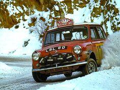 1967 Rally Monte Carlo Morris Mini Cooper S Rauno Aaltonen Henry Liddon Mini Cooper S, Vintage Racing, Vintage Cars, Classic Mini, Classic Cars, Nascar, Rallye Automobile, Up Auto, Monte Carlo Rally