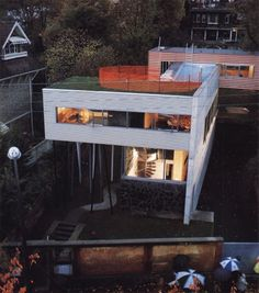 Villa dall'Ava (Rem Koolhaas, OMA) 1985-1991