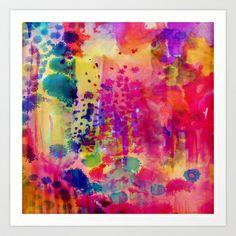 Wander Art Print by Amy Sia - $19.00