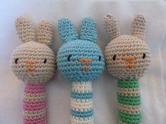 cute rattles for babies by MissAmigurumis