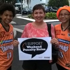 Cairns mum wants Penalty Rates retained for her children and community's sake. #betterfuture #proudtobeunion