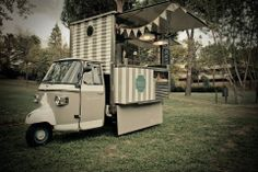 "Italian food truck ape car ""La Bruna"""