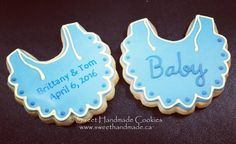 Brittany and Tom are having a baby!  #sweethandmadecookies #customcookies #decoratedcookies #designercookies #cookies #bradfordontariocookies #babyshowercookies