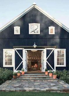 60 rustic farmhouse exterior decor ideas (9)