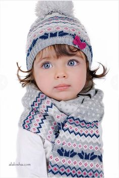 ALALOSHA: VOGUE ENFANTS: Keep your baby warm and stylish with baby hats from Laura Biagiotti dolls