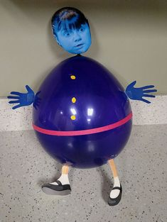 Violet Beauregarde Balloon Craft Charlie and the Chocolate Factory party