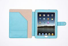 Traveling Companions - iPad Folio, Blue Curacao - Rowallan of Scotland.