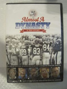 Almost a Dynasty * A Fan Story DVD Documentary - The Buffalo Bills Superbowl Run