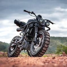 Motorcycle Discover Trail Breaker: K-Speed mods the new Trail Breaker: K-Speed mods the newest (and littlest) XSR Yamaha Cafe Racer, Cafe Racers, Futuristic Motorcycle, Motorcycle Bike, Motorcycle Design, Custom Motorcycles, Custom Bikes, Bmw Motorcycles, Bobber