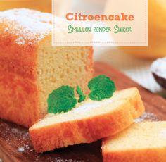 Citroencake van amandelmeel gezoet met honing Pureed Food Recipes, Baking Recipes, Cookie Recipes, Dessert Recipes, Healthy Cake, Healthy Baking, Healthy Food, Low Carb Crackers, Sweet Pie