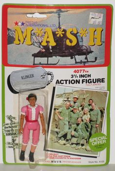 M*A*S*H - 1982 Klinger (in Dress) (Carded)