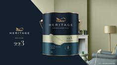 Dulux Heritage (Concept) on Packaging of the World - Creative Package Design Gallery