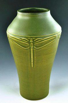 JW Art Pottery - Jacquie Walton - Dragonfly Vase