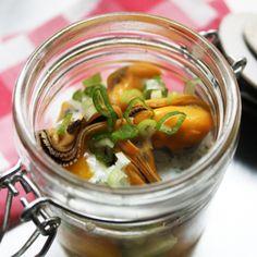 Salade de Moules de bouchot à la crème